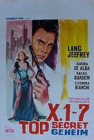 Agente X 1-7 operazione Oceano - Original film poster