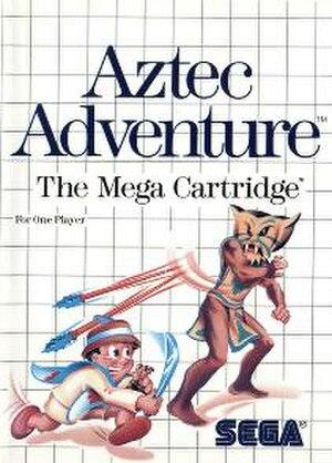 Aztec Adventure - Western box art