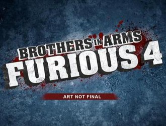 Brothers in Arms: Furious 4 - Image: BIA Furious 4 logo