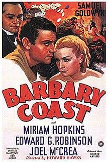 <i>Barbary Coast</i> (film) 1935 film by Howard Hawks