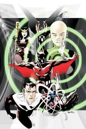 Batman Beyond (comics) - Image: Batman Beyond Unlimited 1
