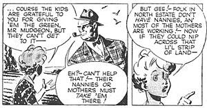 Belinda (comic strip) - Belinda panels from 1950.