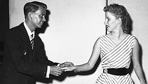 Bill Shirley - Bill Shirley and Mary Costa rehearsing for Sleeping Beauty (1959)