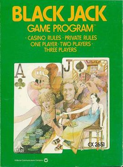 Picture of a game: Blackjack