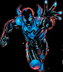 Young Justice Blue Beetle Scarab Jaime Reyes - Wikipedi...