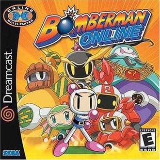 Bomberman Online - North American Dreamcast cover art