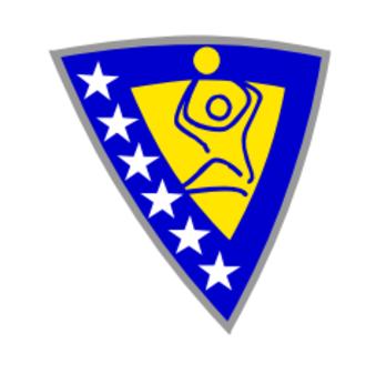 Bosnia and Herzegovina national sitting volleyball team - Image: Bosnia and Herzegovina men's national sitting volleyball team logo