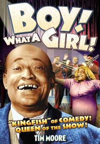 Boy! What a Girl! - DVD box art