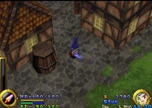 Brave Fencer Musashi gameplay