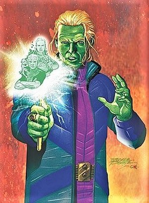 Brainiac 5 - Image: Brianiac 5 (Post Infinite Crisis version)