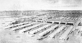 Industry City - Bush Terminal c.1914