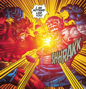 Orion (comics) - Orion kills Darkseid.