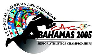 2005 Central American and Caribbean Championships in Athletics - Image: CAC Logo LOGO copy