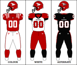 Calgary Stampeders - Image: CFL CAL Jersey