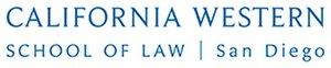 California Western School of Law - Image: California Western School of Law Logo
