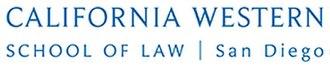 California Western School of Law - Image: California Western School of Law Logo