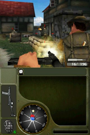 Call of Duty: World at War (Nintendo DS) - Screenshot of the game