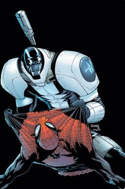 Cardiac on Superior Spider-Man 8 cover.jpg