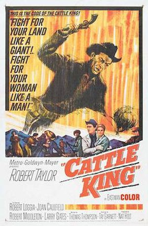 Cattle King - Theatrical Film Poster