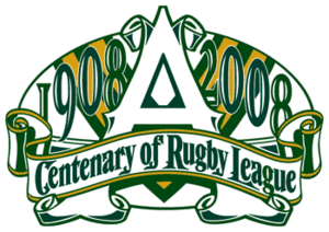 2008 NRL season - Centenary of Rugby League logo