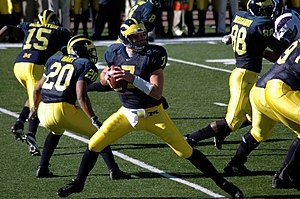 2004 Michigan Wolverines football team - Image: Chad Henne