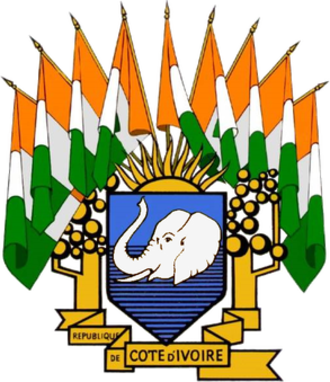 Coat of arms of Ivory Coast - Coat of arms of 1960