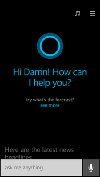 Windows Phone - Cortana on Windows Phone 8.1