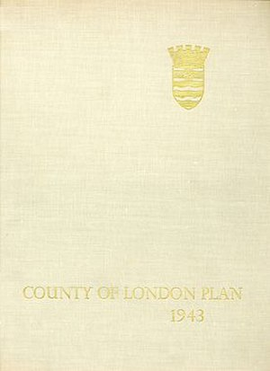 County of London Plan - Image: County of London Plan 1943