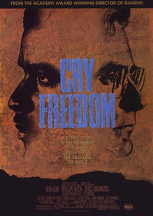Cry Freedom - Theatrical release poster