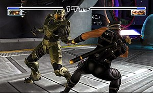 Dead or Alive 4 - Image: DOA4 gameplay