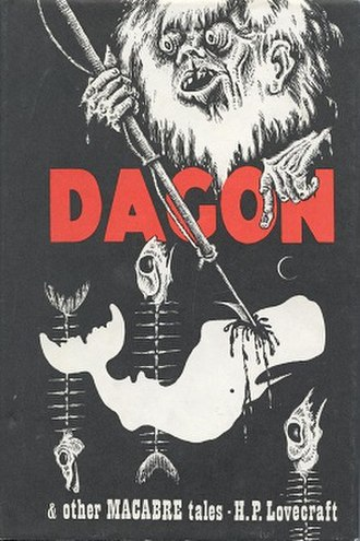 Dagon and Other Macabre Tales - Dust-jacket illustration by Lee Brown Coye.