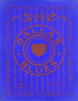 Dallas Blues - Image: Dallas Blues 1912cover