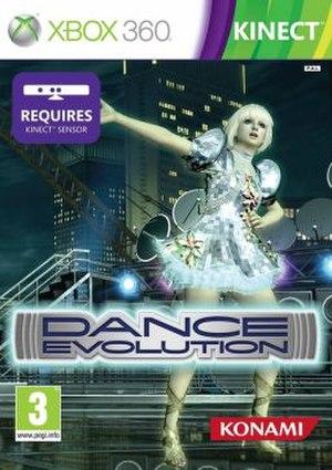 Dance Evolution - PAL region cover art. Japanese cover uses similar artwork.