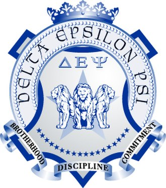 Delta Epsilon Psi - Image: Delta Epsilon Psi Crest
