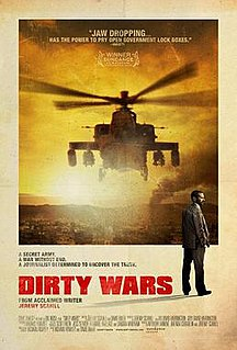 <i>Dirty Wars</i> 2013 documentary film on US covert warfare directed by Richard Rowley