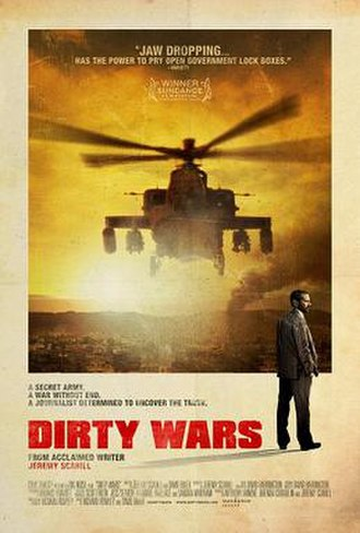 Dirty Wars - Image: Dirty Wars film poster