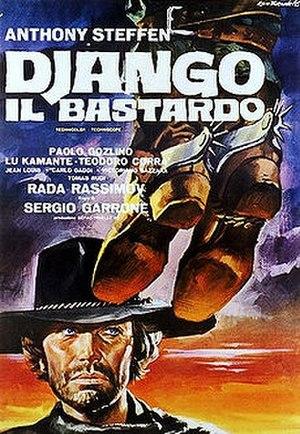 Django the Bastard - Italian film poster