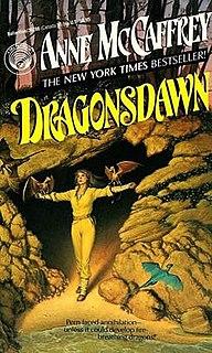 <i>Dragonsdawn</i> book by Anne McCaffrey