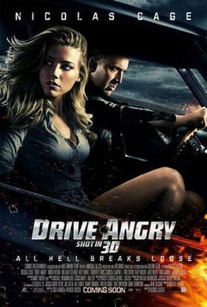 Drive Angry - Theatrical release poster