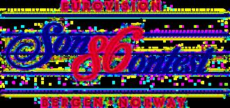 Eurovision Song Contest 1986 - Image: ESC 1986 logo
