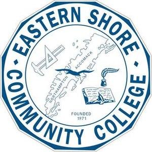 Eastern Shore Community College - Image: Eastern Shore Community College Seal