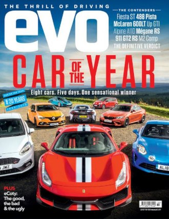 Evo (magazine) - Issue 257 cover