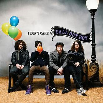 I Don't Care (Fall Out Boy song) - Image: FOB IDC esingle