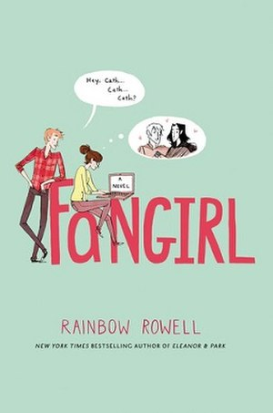 Fangirl (novel) - Fangirl book cover