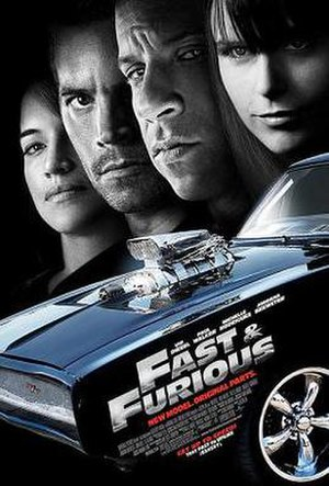 Fast & Furious (2009 film) - Theatrical release poster
