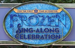 For the First Time in Forever A Frozen Sing-Along Celebration Logo.jpg