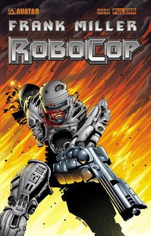 RoboCop (comics) - Cover of first issue. Cover art by Frank Miller