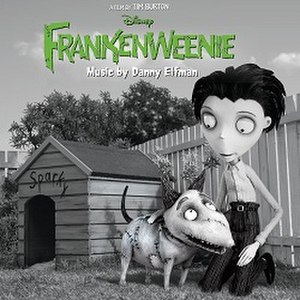 Frankenweenie (soundtrack) - Image: Frankenweenie OST cover artwork