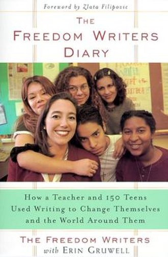The Freedom Writers Diary - Image: Freedomdiarybookcove r