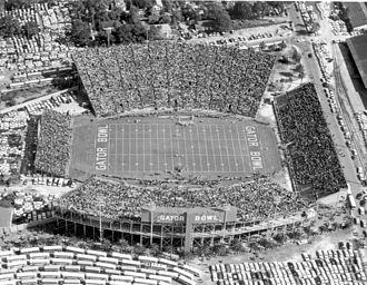 Gator Bowl Stadium - Image: Gator bowl jacksonville fl 1961